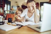 Working Moms With Kids Are Highly Stressed