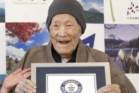 World's Oldest Man No More