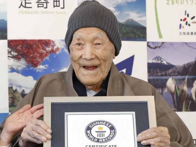 World's Oldest Man No More