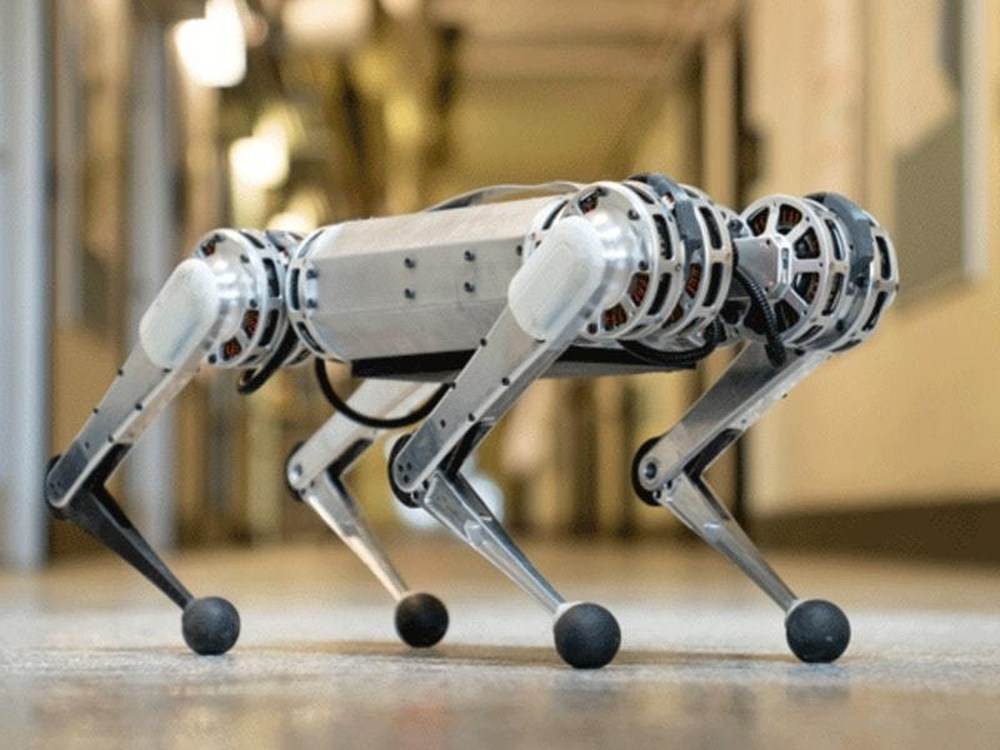 Scientists Created A 'Mini Cheetah Robot'