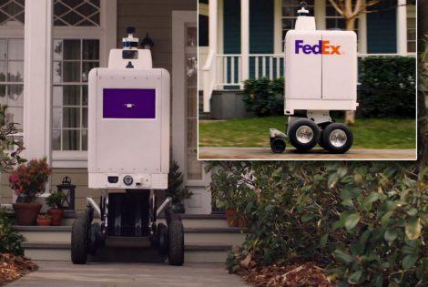 FedEx Bringing Delivery Robots! (video)
