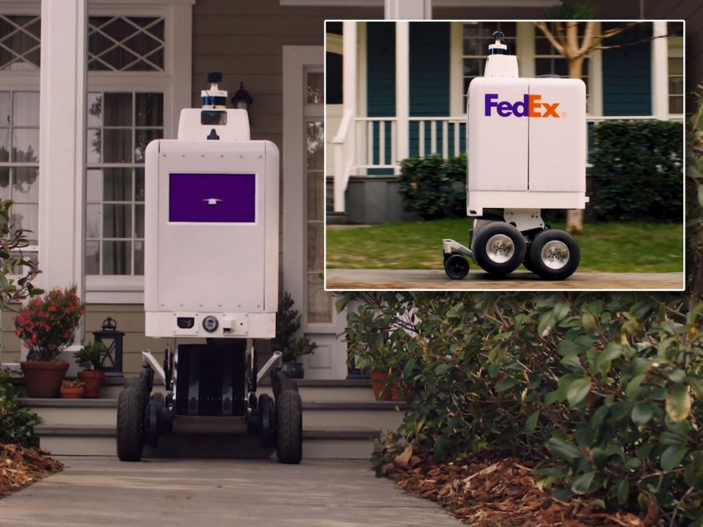 FedEx Bringing Delivery Robots! (video)