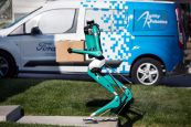 Ford's Delivery Robot That Walks Like A Human (watch video)