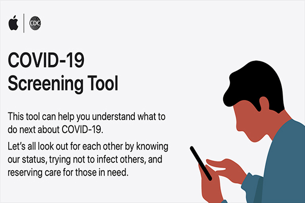 Apple Launches WEBSITE & APP on Coronavirus
