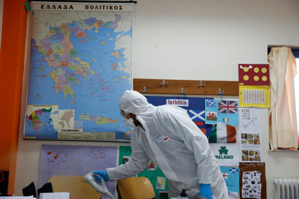 Now Greece Shuts All Schools & Universities Over Coronavirus