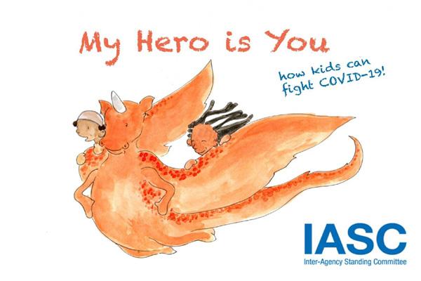 UNICEF Releases Book for Children on Coronavirus
