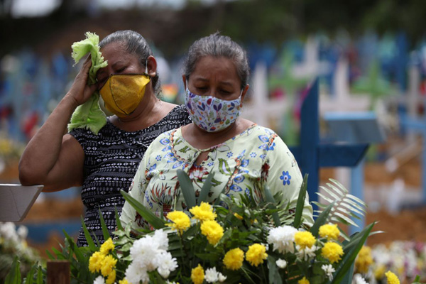 Corona Death Toll Crosses 350k Globally