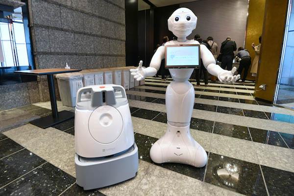 Tokyo Using ROBOTS To Cheer Up Corona Patients