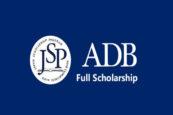 ADB–Japan Scholarship 2021 Now Underway