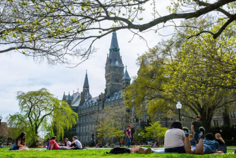 Georgetown University Going Online For Fall Semester