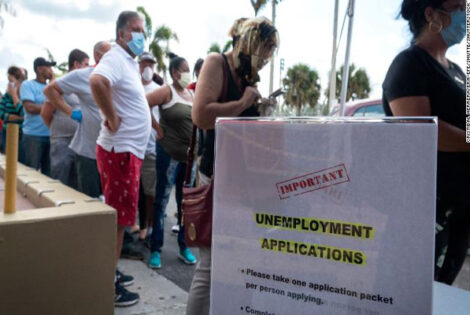 More 1.2 Million Americans Filed for Unemployment Benefits
