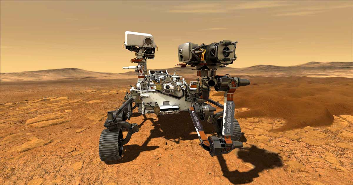 NASA's Mars Rover Perseverance